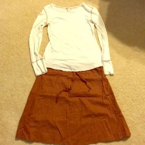 Dresses & Skirts - XS maternity skirt and shirt outfit or separates